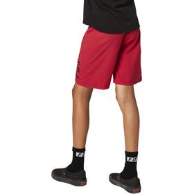 Fox Ranger Shorts Jóvenes, rojo